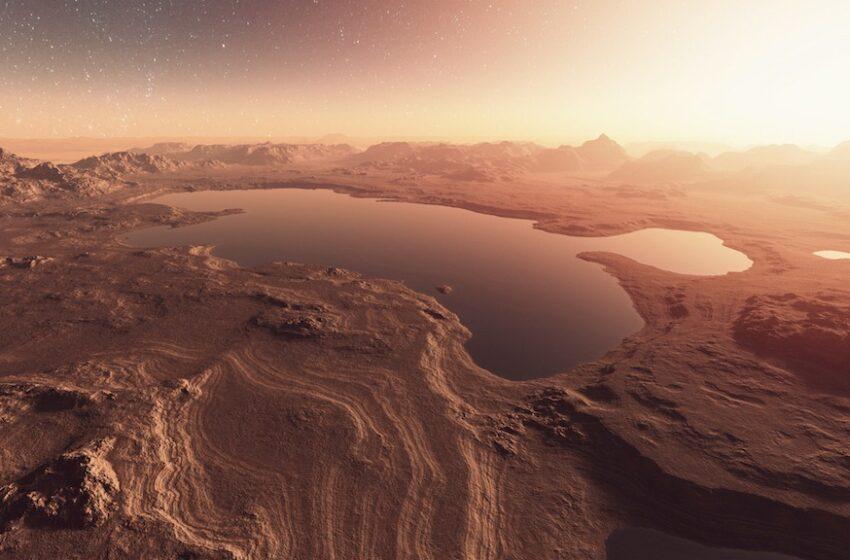 په مریخ کې څومره اوبو شتون لري؟