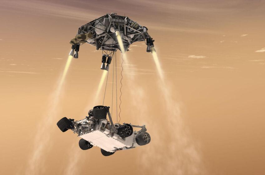 نن ماښام به امریکایي فضایي بېړۍ په مریخ ناسته وکړي