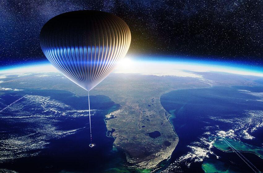 د بالون په وسیله فضاء ته سفر