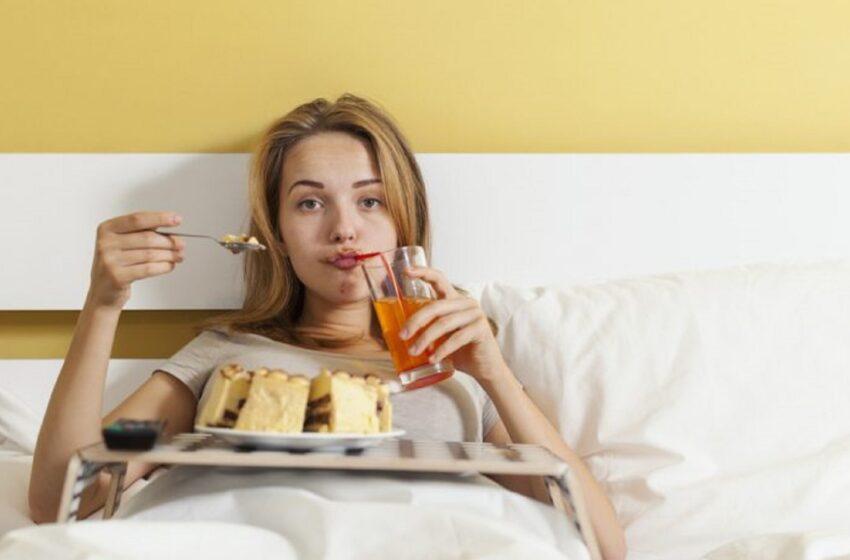 له خوب مخکې باید څه وخورو؟ شپږ خوراکونه او څښاکونه